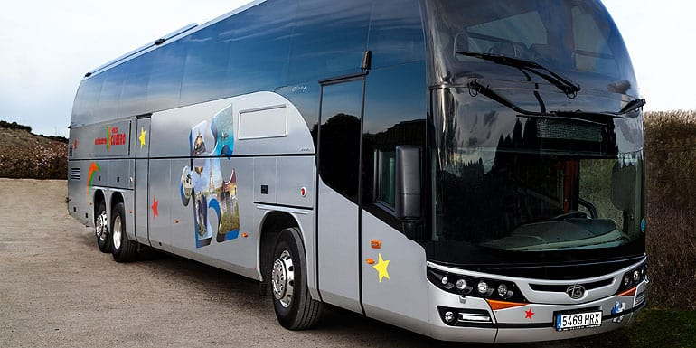 Alquiler de autobuses Gran Lujo