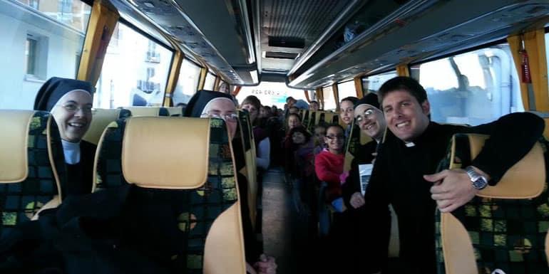 Alquiler de autobuses para colegios