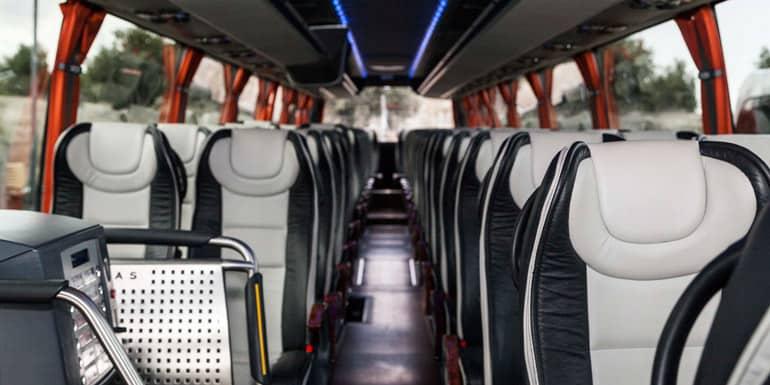 Alquila nuestros autobuses el día de tu boda
