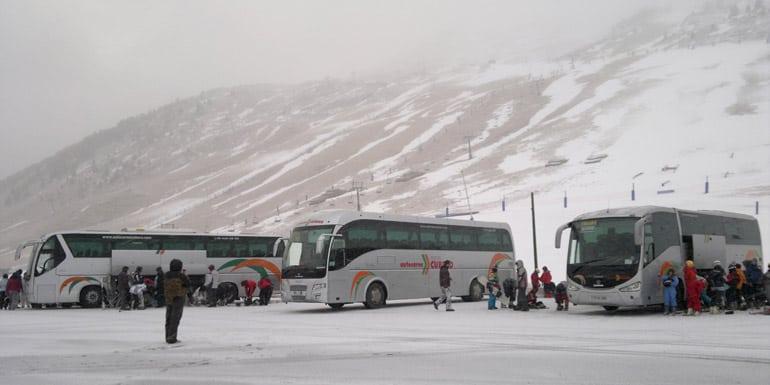 Alquila Un Autocar Para Tus Viajes A La Nieve