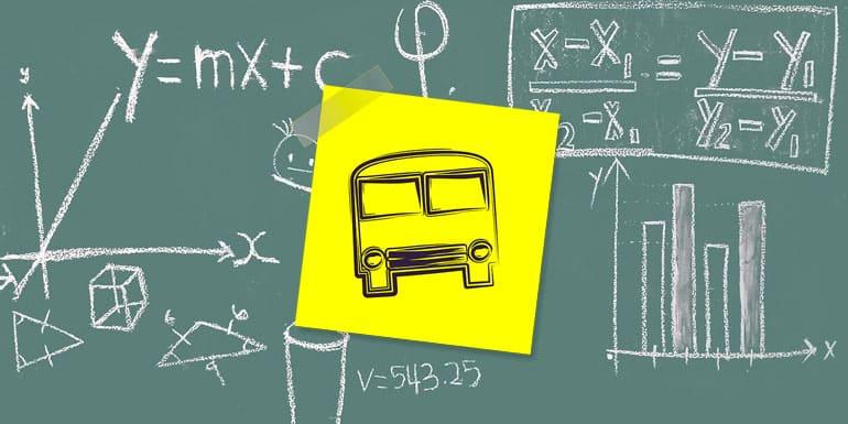 Alquiler de transporte escolar para el curso 2016/2017