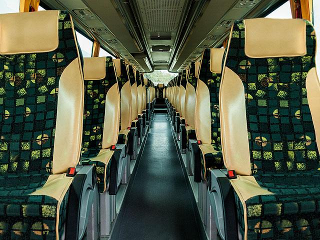Alquiler de autobuses - Interior del vehículo (asientos)