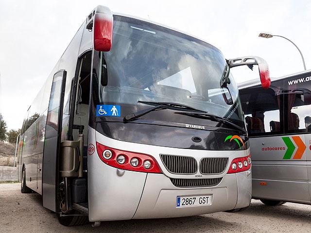 Alquiler de autobús adaptado - Exterior del vehículo
